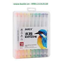 Bút màu Marker 18 màu D289-18