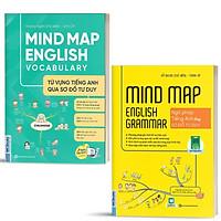 Sách - Combo Mindmap English Grammar và Mindmap English Vocabulary - Học Kèm App Online