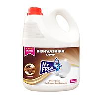 Nước rửa chén bát Mr Fresh siêu sạch (3,5L)