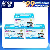 [HỘP - FAMAPRO MAX KID] - khẩu trang y tế trẻ em kháng khuẩn 3 lớp Famapro Max Kid (50 cái/ hộp) - COMBO 3 HỘP