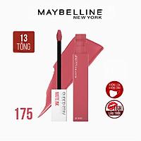 Son Kem Lì 16h Lâu Trôi Maybelline New York Super Stay Matte Ink Lipstick 5ml 175 Ringleader