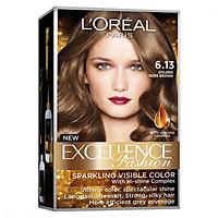 Kem Nhuộm Dưỡng Tóc Màu Thời Trang L'oreal Excellence Fashion 172ml - Màu 6.13 Nâu Vàng Ánh Khói