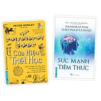 Sách - Combo Cửa hiệu triết học (bìa cứng) + Sức mạnh tiềm thức (bìa cứng)