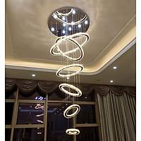 Đèn thả thông tầng ELMER kiểu dáng sang trọng trang trí nhà cửa hiện đại [ẢNH THẬT 100%]