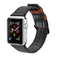 Dây đeo thay thế Apple Watch Dux Ducis Leather band 38/40/42/44mm - Hàng nhập khẩu