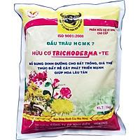 02 gói Phân bón đầu trâu hữu cơ vi sinh cao cấp Trichoderma + TE gói 1 Kg