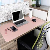 Miếng lót chuột, tấm di chuột 90 X 45 CM kiêm deskpad thảm da trải bàn làm việc 2 mặt, 2 màu