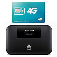 Huawei E5770 | Router wifi 4G Huawei E5770 Tốt Nhất VN + Sim Viettel Trọn Gói 12 Tháng 5GB/tháng tốc độ cao - Hàng nhập khẩu