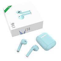Tai nghe Bluetooth không dây i16 Âm Thanh Cực Hay Hàng Chuẩn-Hàng Nhập Khẩu