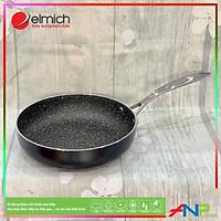 Chảo vân đá tự nhiên chống dính Elmich Opal 24cm EL-3806 - Hàng Chính Hãng Elmich