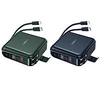 Pin sạc dự phòng 10000mah đa năng Remax RPP-145 10000mAh QC3.0, TypeC PD18W, Sạc lkhông dây Wireless Charge (HÀNG CHÍNH HÃNG)