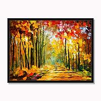 Tranh cao cấp Sự lãng mạn của mùa thu Model: AZ1-0271