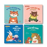 Picture Book - Bộ 4 cuốn Những câu chuyện ở trường của bé - TN0011.001