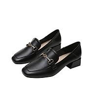 Giày công nữ sở cao cấp đế vuông cao 3 cm GIAY.N1-87