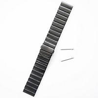 Dây Thép Cánh Bướm Đen Cho Gear S3, Galaxy Watch,(Size 22mm)