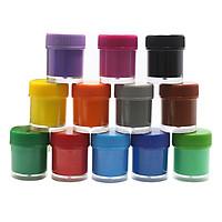 Màu Nước Finger Paint SMARTKIDS 12 Màu (15ml/ Màu)