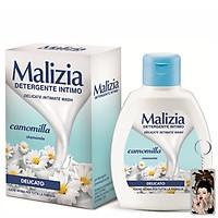 Dung dịch vệ sinh Malizia Detergente Intimo Wash 200ml tặng kèm móc khóa