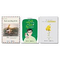 Combo 3 cuốn Tác giả Du Phong: Thanh xuân không hối tiếc + Để anh nâng em dậy, để anh