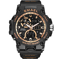 SMAEL Watch Multifunctional Calendar Alarm Clock Luminous Waterproof Watch Outdoor Mountaineering Electronic Watch 8011
