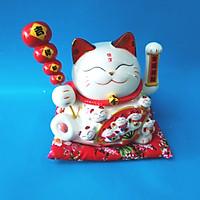 Mèo thần tài bằng sứ xài điện hoặc pin ĐP ĐGD HF 17017-1