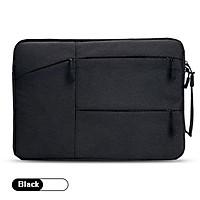 Túi chống sốc Macbook size 11inch - 12 - 13 - 13.4 inch nhiều ngăn có quai xách cầm tay TS04