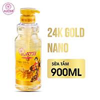 Sữa tắm hương nước hoa thơm mịn da 24k nano Avatar 900ml - Chăm sóc da thơm mịn toàn diện - Công nghệ Nano Nhật Bãn