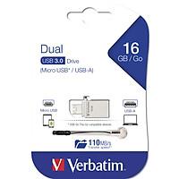 USB Verbatim Store'n' Go OTG Micro USB 3.0 16GB - Hàng chính hãng