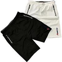 Quần Short Nam Thể Thao Cao Cấp - Combo 2 quần màu trắng và đen