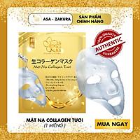 Mặt Nạ Collagen Tươi Asa Zakura - Căng Bóng, Trẻ Hóa Da