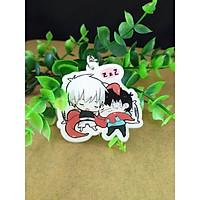 Móc khóa hình nhân vật Tokyo Ghoul anime keychain
