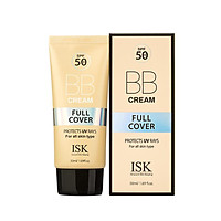 BB ISK che khuyết điểm  Kiềm dầu lâu trôi chống nắng SPF50+ (50ml)