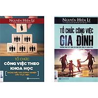 Combo Gia Đình và Sự Nghiệp 2 quyển: 1.Tổ chức công việc theo Khoa Học + 2.Tổ chức công việc gia đình .