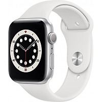 Đồng Hồ Thông Minh Apple Watch Series 6 GPS Only Aluminum Case With Sport Band (Viền Nhôm & Dây Cao Su) - Nhập Khẩu Chính Hãng