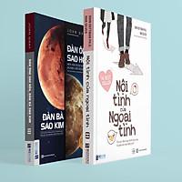 Combo Sách - (Đàn Ông Thích Tình Dục Còn Phụ Nữ Cần Tình Yêu) Đàn Ông Sao Hỏa Đàn Bà Sao Kim, Nội Tình Của Ngoại Tình