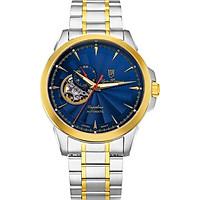 Đồng hồ nam dây kim loại Automatic Olym Pianus OP990-083AMSK xanh lam