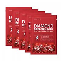 Combo 5 Mặt Nạ Giấy Dưỡng Sáng Da Da Some By Mi Diamond Brightening Mask Sheet 25g x5