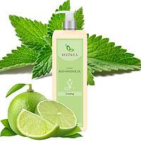Dầu Massage Body Biyokea Luxury Cooling Oil (làm mát) - 1000ml