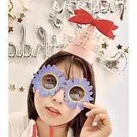 Kính mắt Happy Birthday phụ kiện sinh nhật siêu xinh