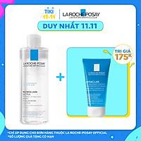Bộ sản phẩm nước tẩy trang làm sạch sâu giàu khoáng dành cho da nhạy cảm La Roche Posay Micellar Water Ultra Sensitive Skin