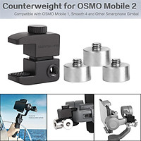 Universal Phone Stabilizer Gimbal Counterweight Counter Weights for OSMO Mobile 2