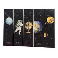 Hộp 30 Bookmark Đánh Dấu Sách Du Hành Không Gian Space Roaming GB21 027-2007 (Tặng Kèm Bookmark Nam Châm)