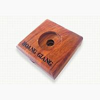 Hộp gỗ vuông đa năng Hoàng Giang - Phụ kiện cho các sản phẩm trầm hương