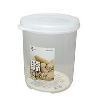Hộp nhựa đựng thực phẩm dáng cao 570ml loại tròn có nắp nội địa Nhật Bản