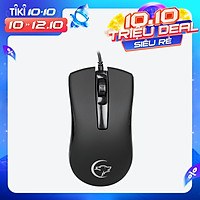 YWYT G831 Wired Optical Mouse 2400 DPI 3 Button Ergonomic Design Office Gaming Mouse