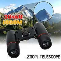 30X60 Pocket Mini High-definition Binoculars Waterproof Telescope Outdoor HD Binoculars