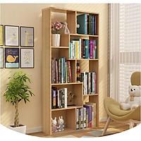 KỆ SÁCH GỖ ĐỂ SÀN ĐA TẦNG THÔNG MINH- Tủ sách đa tầng nhiều ngăn gỗ MDF cao cấp