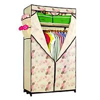 Tủ vải Thanh Long TVAI02 90 x 46 x 158 cm Giao màu ngẫu nhiên