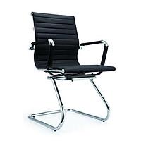 Ghế chân quỳ D196 da lưng thấp màu đen - DAF