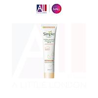 Kem dưỡng ẩm Simple Protect N Glow Triple Protect Moisturiser SPF 30 - 40ml