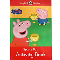 Peppa Pig: Sports Day Activity Book - Ladybird Readers Level 2 (Paperback)